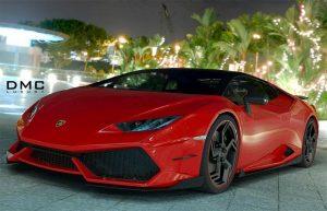 La Lamborghini Huracan tunée par DMC Luxury
