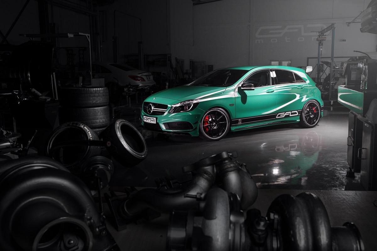 GAD Motors monte la Mercedes A45 AMG à 430 chevaux !