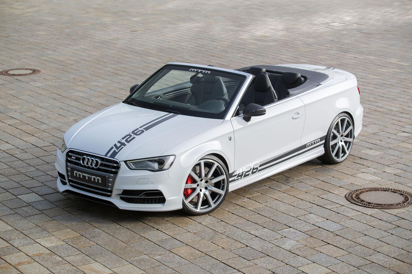 MTM x Audi S3 : ça pousse à 426 chevaux