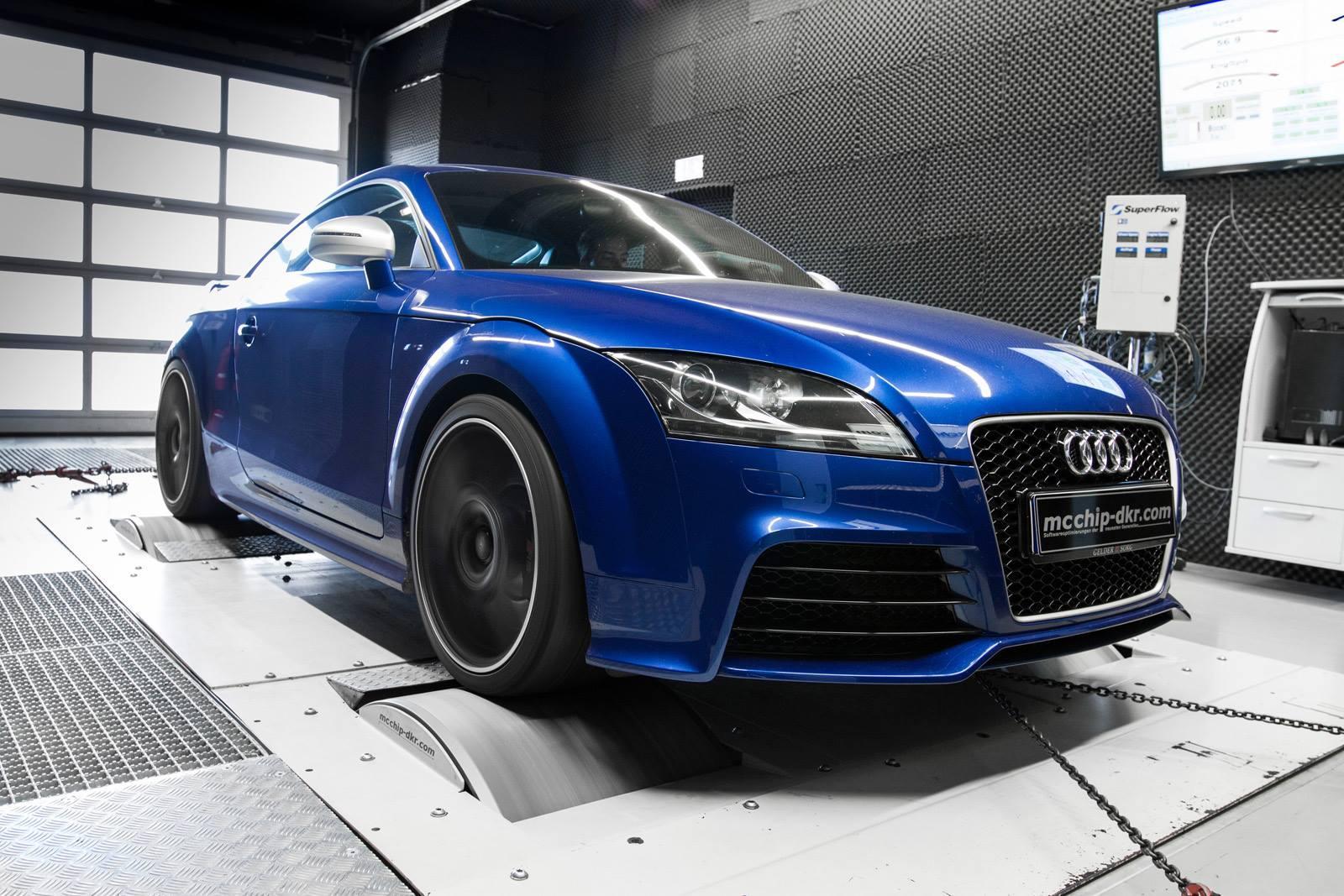 Audi TT-RS + McChip-DKR : 480 chevaux !