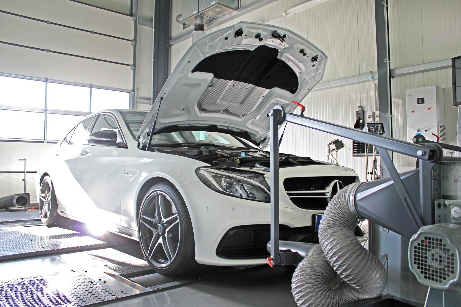 DTE x Mercedes C63 AMG : jusqu'à 590 chevaux