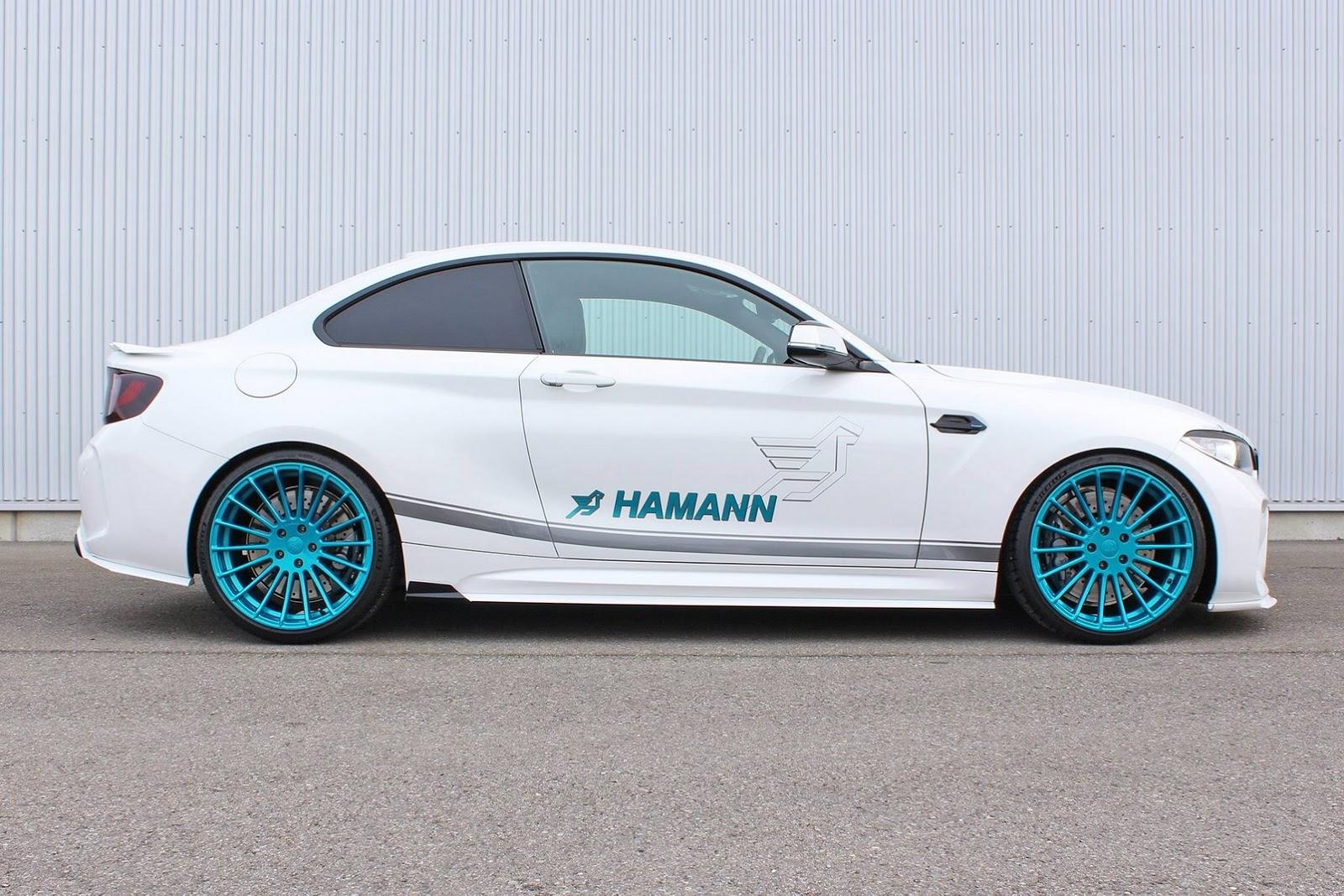 Hamann dope la BMW M2 à 420 chevaux