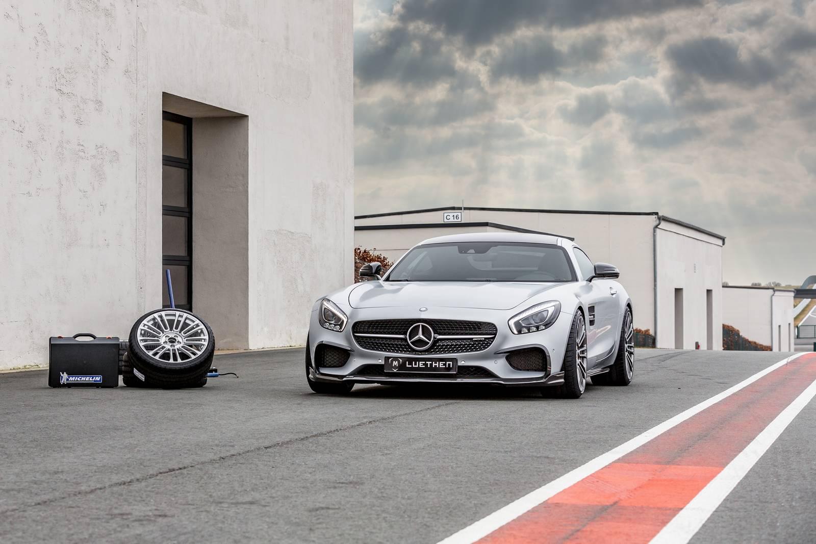Mercedes AMG GT x Luethen Motorsport = 612 chevaux (+102 ch)