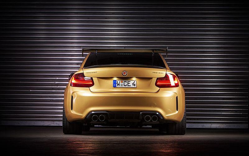 BMW M2 à la sauce Manhart, plus puissante qu'une Huracan