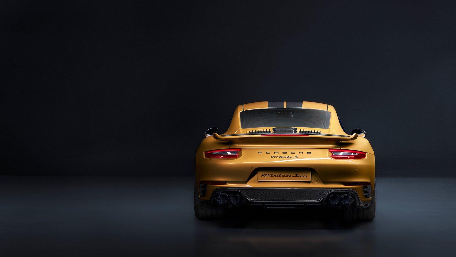 Porsche 911 Turbo S Exclusive Series : 607ch, 500 ex.