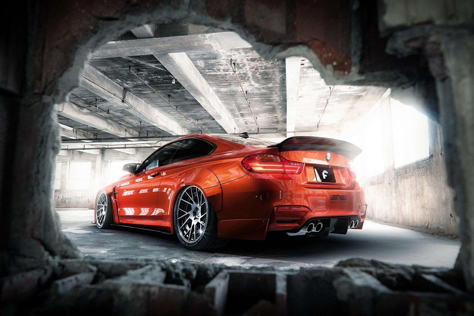 BMW M4 : tout est une histoire de largeur pour Liberty Walk