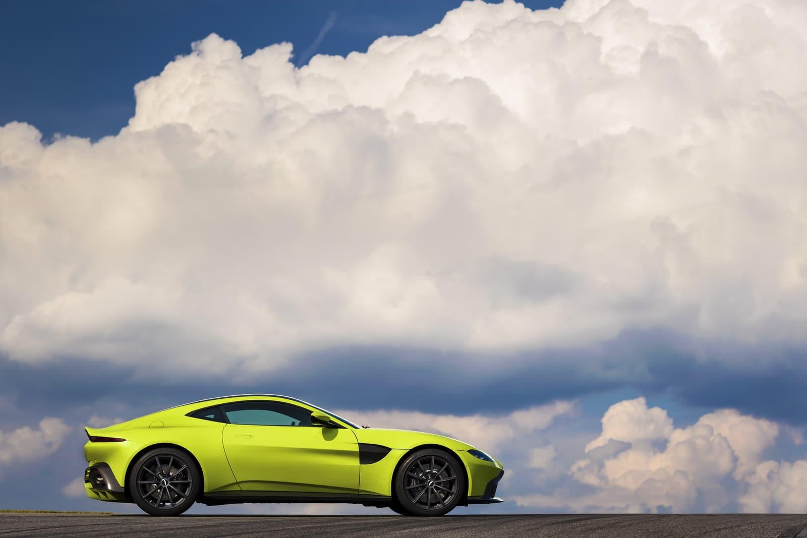Aston Martin Vantage : joli cru animé par un V8 Mercedes AMG