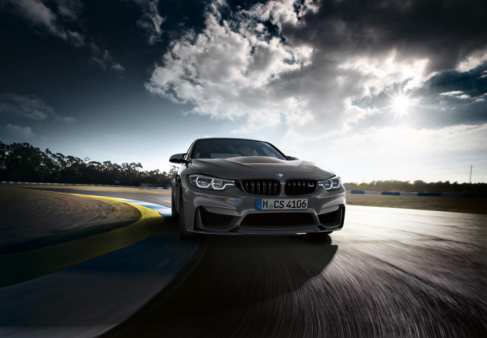 BMW lâche sur la piste une M3 CS de 460 ch.