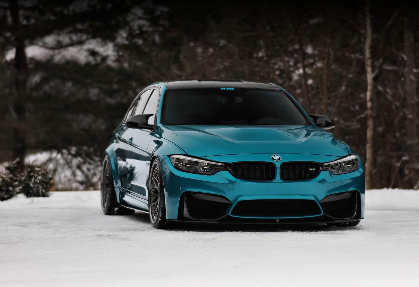 BMW M3 F80 : une beauté sur la neige