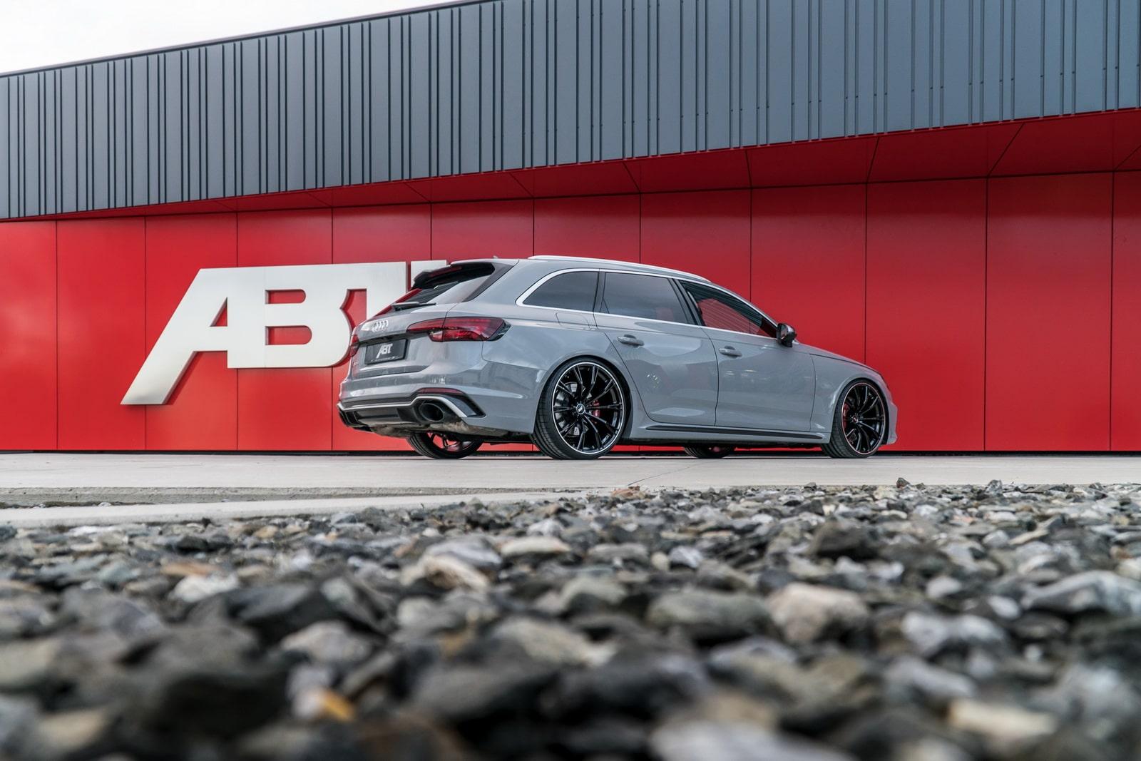 Audi RS4 Avant par ABT : +60ch.