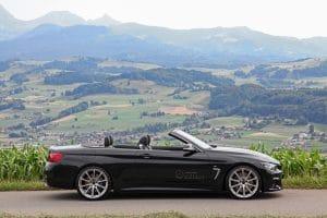 Dähler envisage l'été à bord d'une BMW M440i