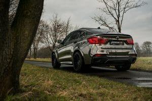 BMW X6 M50d : gain de puissance et de style signé Fostla