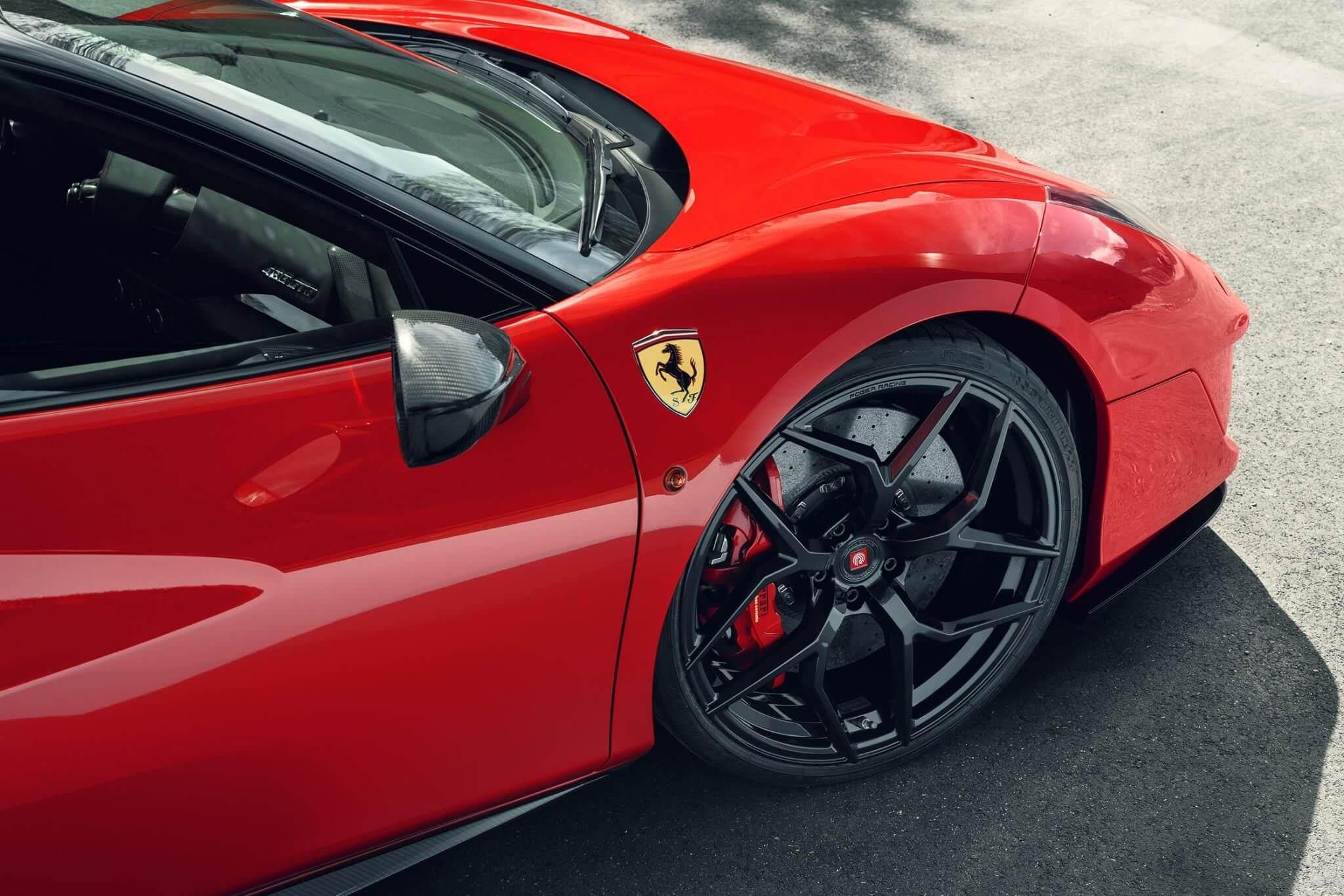 820 chevaux à bord de la Ferrari 488 GTB de Pogea