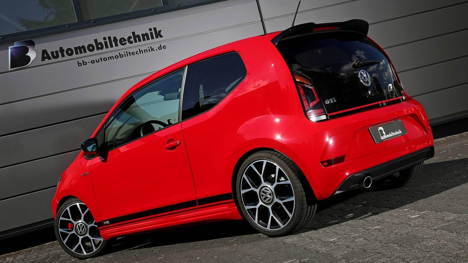 B&B Automobiltechnik améliore la puissance de la VW Up! GTi