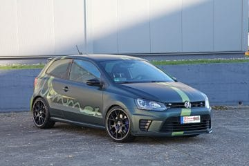 Une VW Polo R WRC préparée à 420 ch par Wimmer